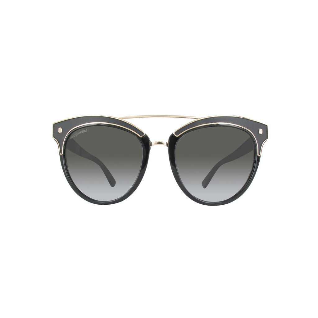 DSquared2 DQ0215/S 01B Ladies Black Sunglasses