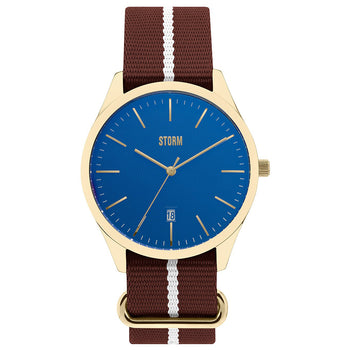 Storm 47299/GD/B Morley GD-BLUE Unisex Watch