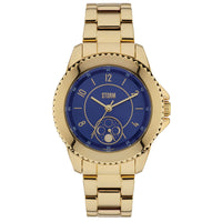 Storm 47253/GD Zirona Gold Blue Ladies Watch