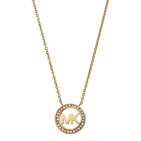 Michael Kors MKJ4732710 Gold Tone Stainless Steel Ladies Necklace