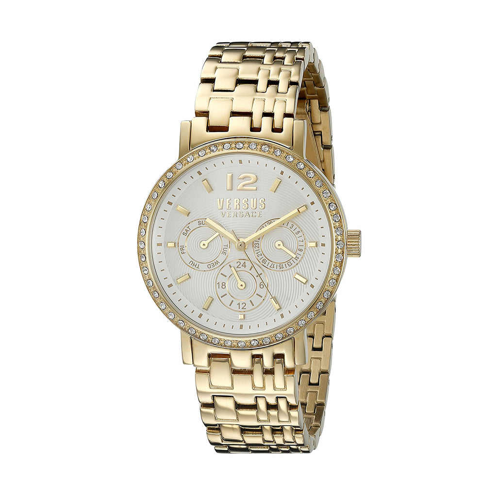 Versus by Versace SOR120015 Ladies Gold-Tone Quartz Watch
