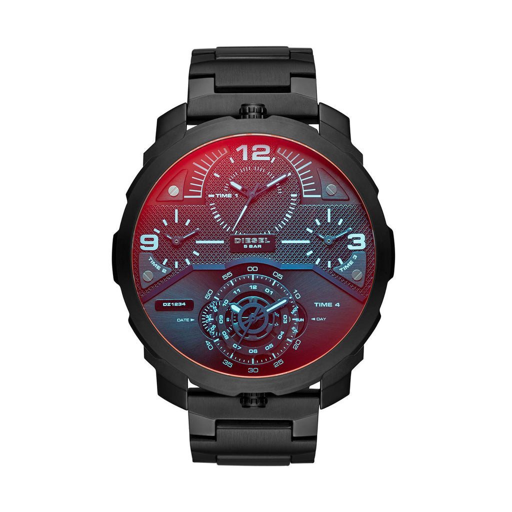 Diesel DZ7362 Machinus Infrared Tinged 4 Timezone Men's Watch