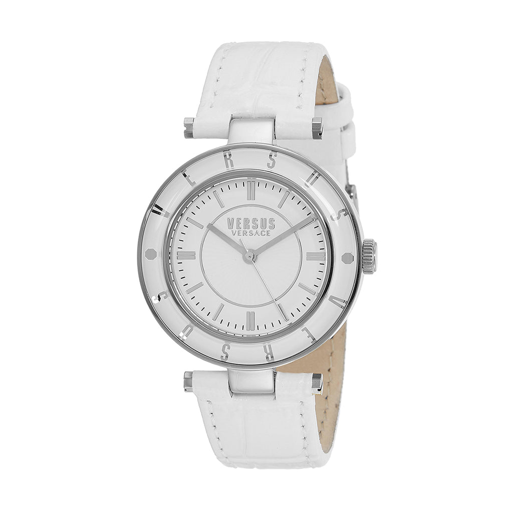 Versus SP8120015  Ladies Logo Leather Watch