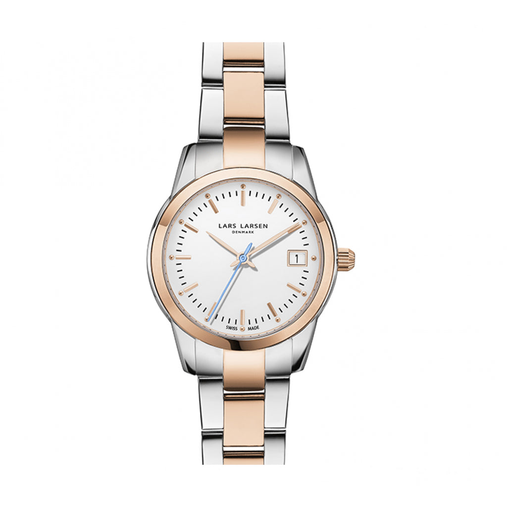Lars Larsen 123RWRB Ladies Multi-Function Watch