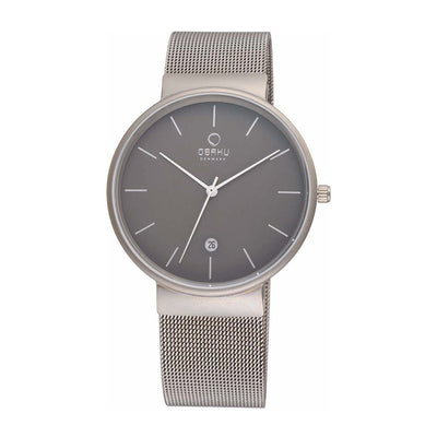 Obaku V153GDTJMJ Men's Silver Quartz Watch
