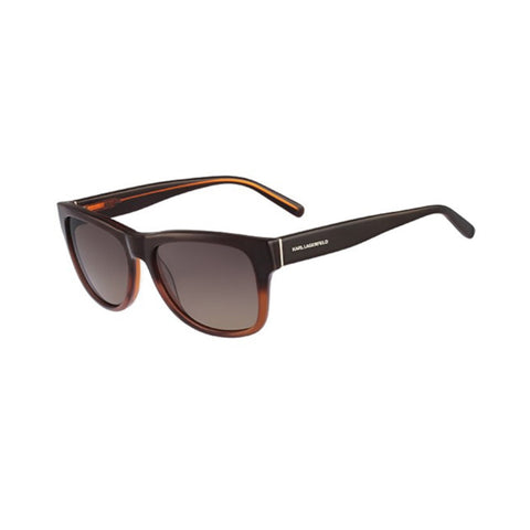 Karl Lagerfeld KL811S (044) Ladies Brown Gradient Sunglasses