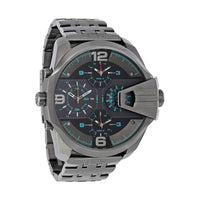Diesel DZ7372 Uber Chief Black Dial Men's Dual Time Watch