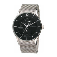 Obaku V157GMCBMC Men's Torden Silver Quartz Watch