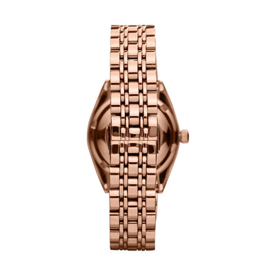 Emporio Armani AR0381 Ladies Rose Gold Watch