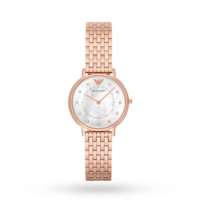 Emporio Armani AR11006 Ladies Mother of Pearl Watch