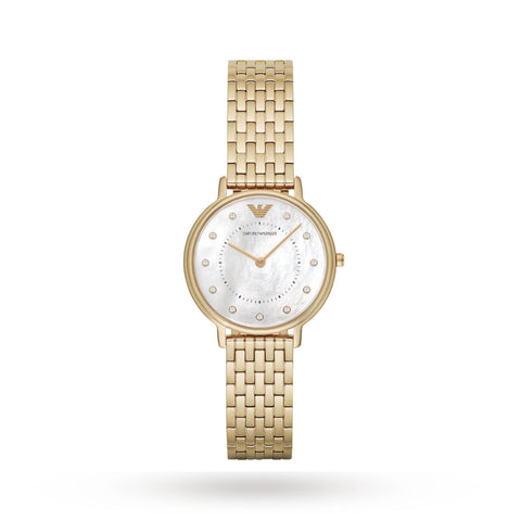 Emporio Armani AR11007 Ladies Gold Tone Watch