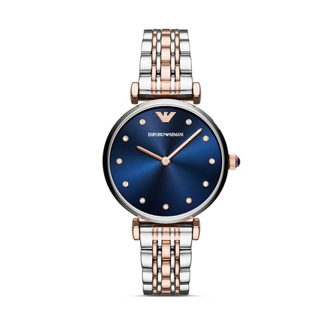 Emporio Armani AR11092 Ladies Blue Dial Watch