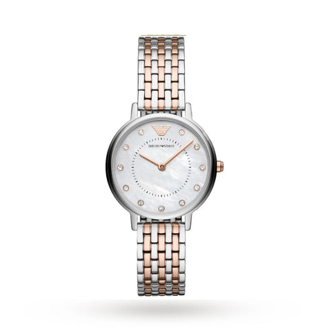 Emporio Armani AR11094 Ladies Two-Tone Watch
