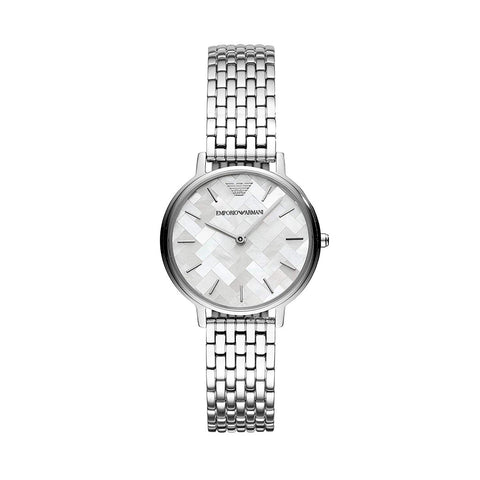 Emporio Armani AR11112 Ladies Silver Stainless Steel Watch