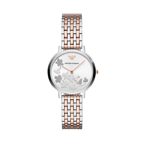 Emporio Armani AR11113 Ladies Aurora Two-Tone Watch