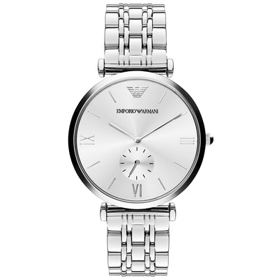 Emporio Armani AR1819 Classic Men's Silver Watch