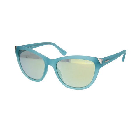 Guess GU7398 85X Ladies Matte Teal Sunglasses