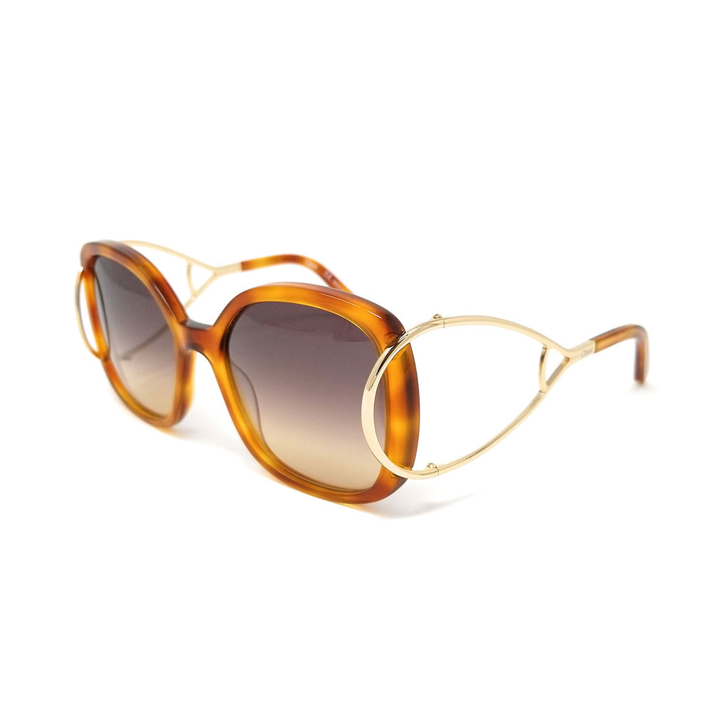 Chloe CE702S 725 Jackson Blonde Havana Ladies Sunglasses