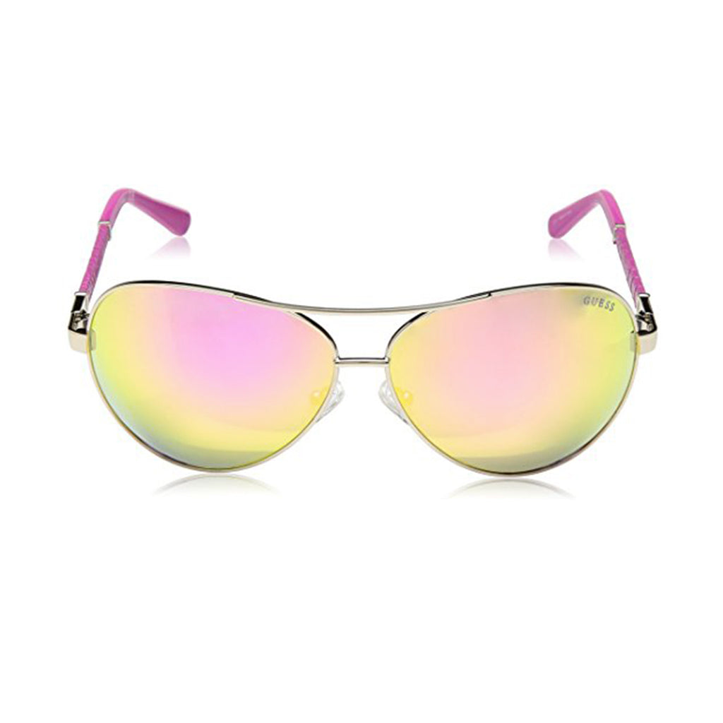 Guess GF6015/S 32C Ladies Smoke Mirrored Sunglasses