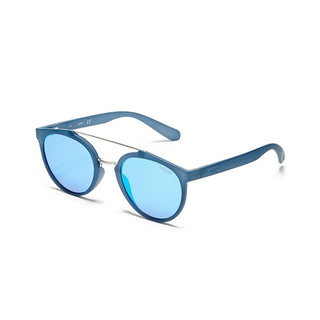 Guess GU6890/S 91X Unisex Blue Mirrored Sunglasses