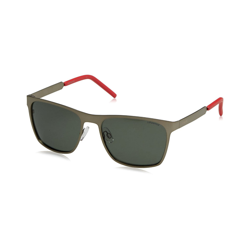 Polaroid PLD 2046/S Shiny Matte Dark Ruthenium Men's Sunglasses