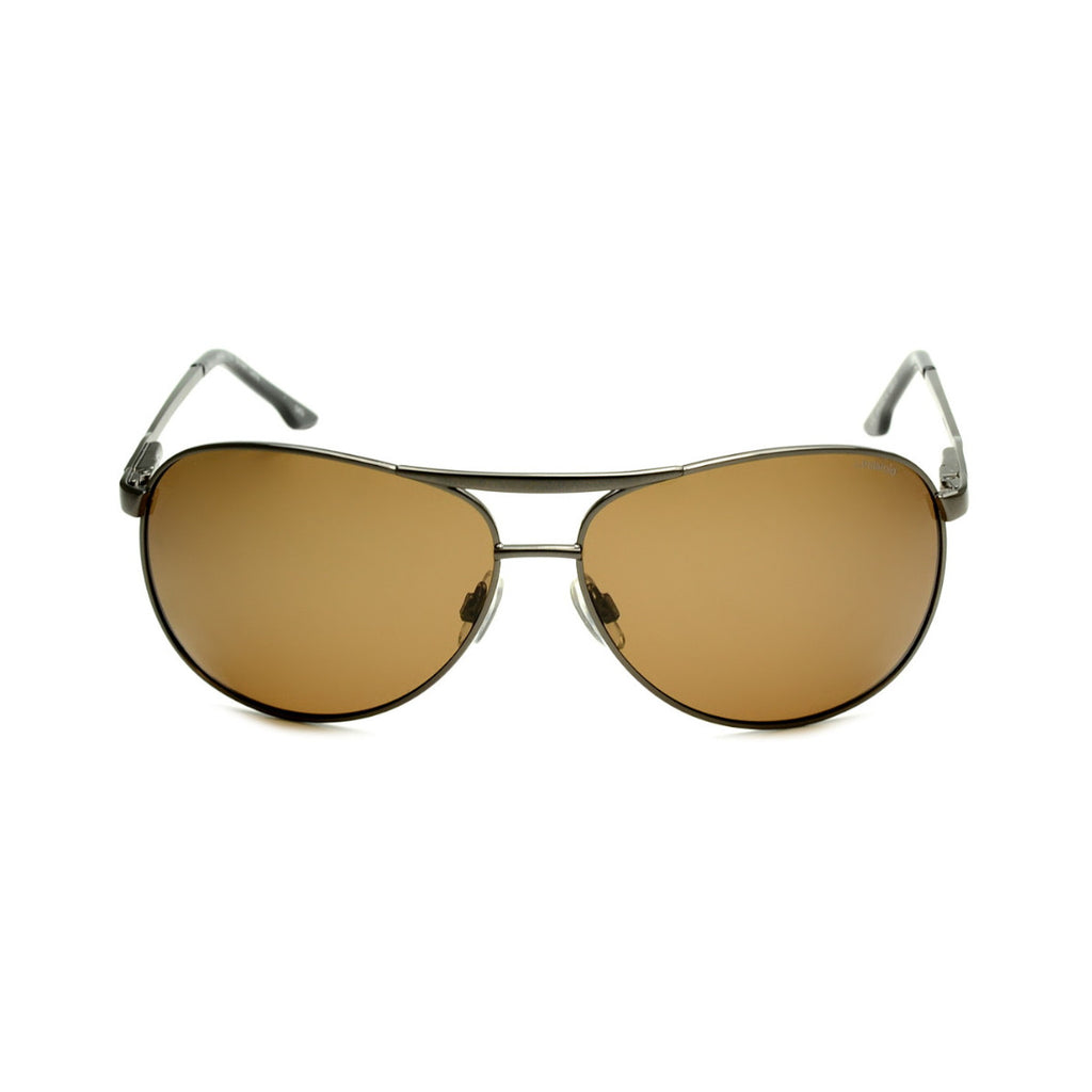 Polaroid S4300A Men's Brown Polarised Sunglasses
