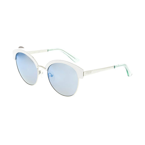 Guess GF0316/S 21X 52-20-135mm Ladies Blue Mirrored Sunglasses
