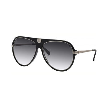 Balmain BL2057A-01 61-11-140 Ladies Black Aviator Sunglasses