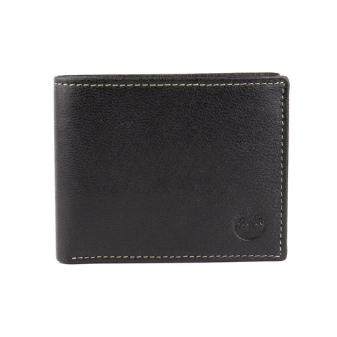 Timberland D10218/08 Men's Black Genuine Leather Wallet