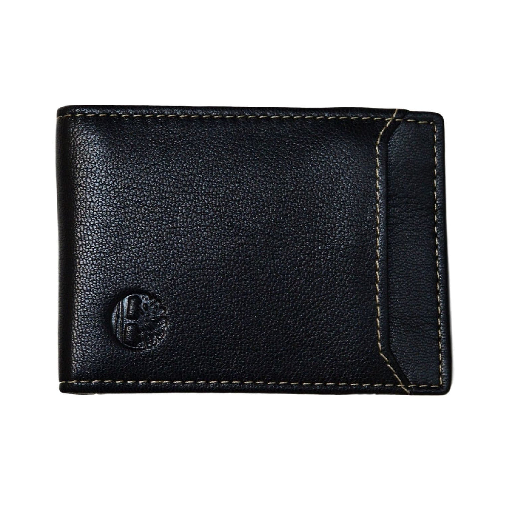 Timberland D10243/08 Men's Blix Minimalist Slim Money Clip Wallet, Black