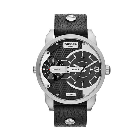 Diesel DZ7307 Mini Black Daddy Men' Leather Watch