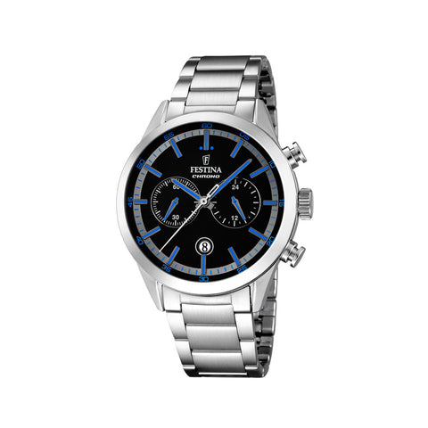 Festina F16826/5 Men's Blue Markers Chrono Watch