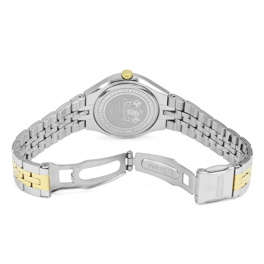 Festina F16868/1 Ladies Two-Tone Multi-Function Watch