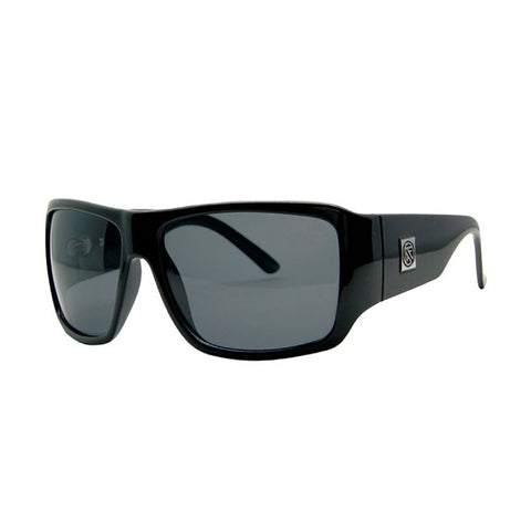 Filtrate TRACR Black Unisex Sunglasses