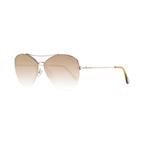 Tom Ford Ladies Sunglasses FT0566 28G 60