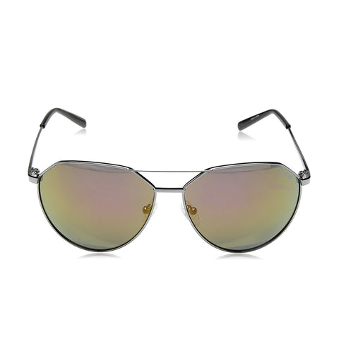 Guess GF0161 08U 61 Men's Grey Aviator Sunglasses