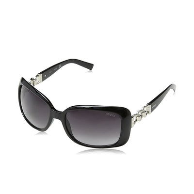 Guess GF6023 01B 58 Ladies Black Sunglasses