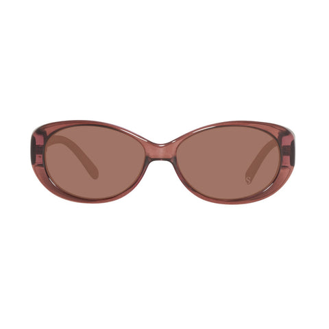 Guess GU7261 E13 55 Ladies Brown Oval Sunglasses