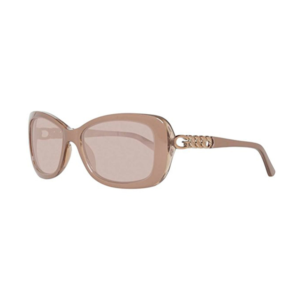 Guess GU7453 72G 56 Ladies Nude/Brown Sunglasses