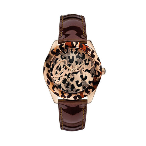GUESS W0455L3 Ladies Temptress Brown Watch