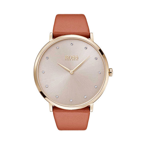 Hugo Boss 1502411 Jillian Ladies Leather Watch