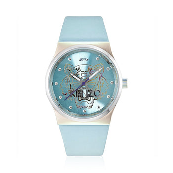 Kenzo K0022004 Ladies Blue Leather Watch