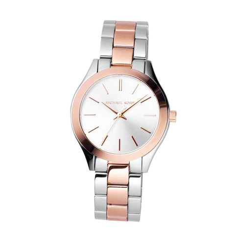 Michael Kors MK3204 Runway Ladies Two-Tone Watch