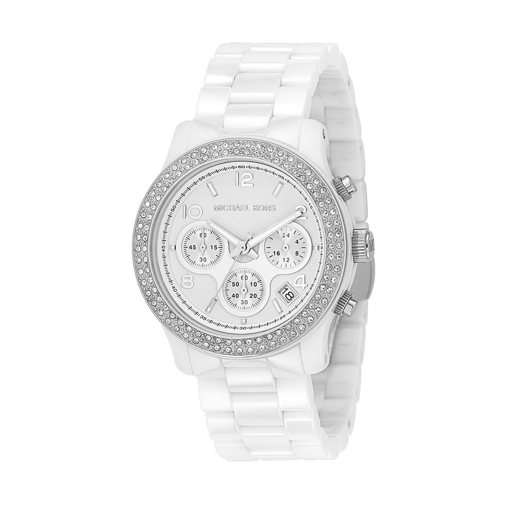 Michael Kors MK5188 Runway Ladies Ceramic Watch