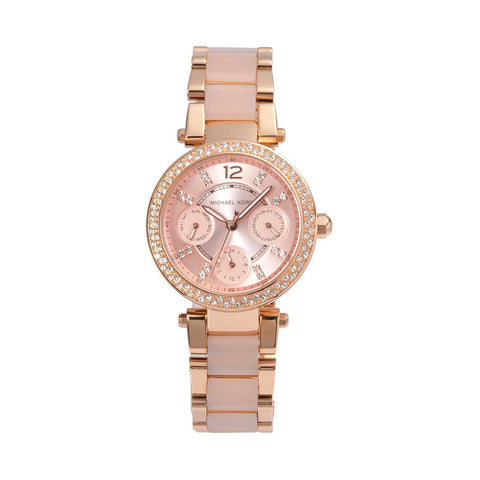 Michael Kors MK6110 Parker Ladies Rose Gold Watch