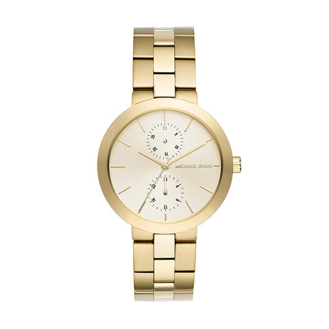 Michael Kors MK6408 Garner Ladies Gold-Tone Watch