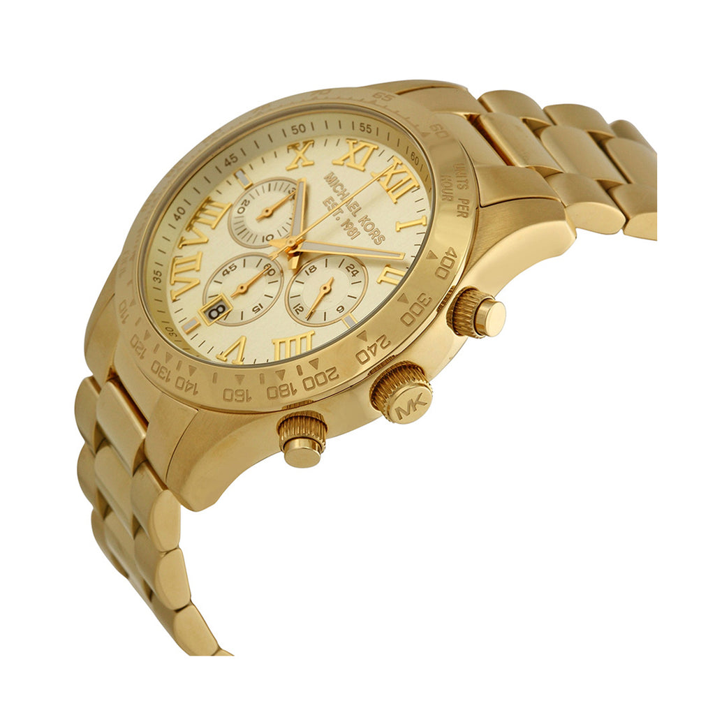 Michael Kors MK8214 Men's Layton Gold Chronograph Watch