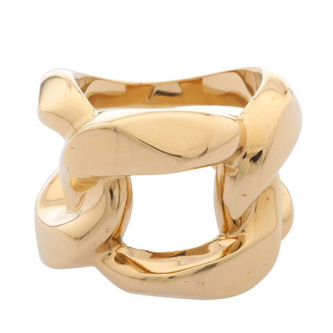Michael Kors MKJ1151710 Ladies Stainless Steel Gold Ring- Size S