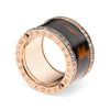 Michael Kors MKJ2414791 Gold and Tortoise Shell Ring - Size 6