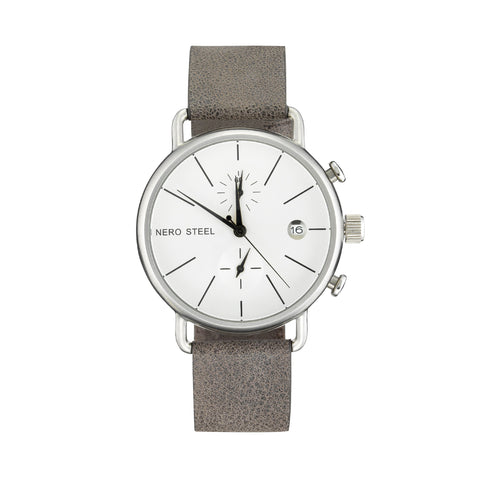 Nero Steel 111 Unisex Cocoa Brown Watch